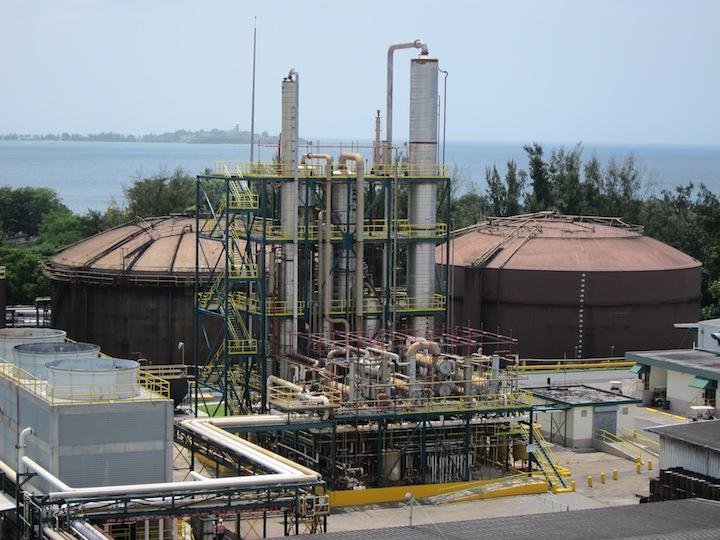 Bacardi's Massive Distillation Columns