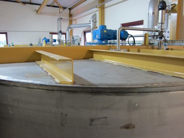 Caol Ila's New Stainless Steel Fermenters