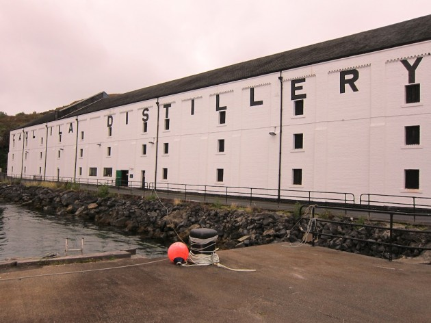 Caol Ila Islay Whisky Distillery