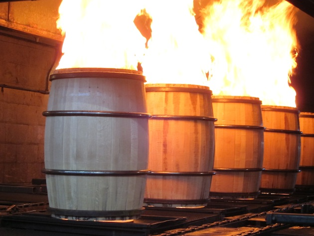 Woodford Barrels at Brown Forman Cooperage