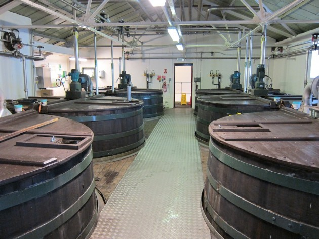 Lagavulin's Washbacks