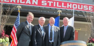 Matthew Shattock, Steven L. Beshear, Fred Noe and David MacKay