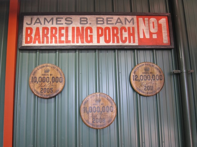 James B. Beam Barreling Porch