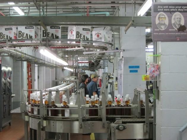 Jim Beam Bottling Plant