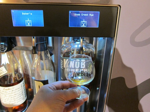 Robotic Tasting Machines at The Jim Beam Tasting Room