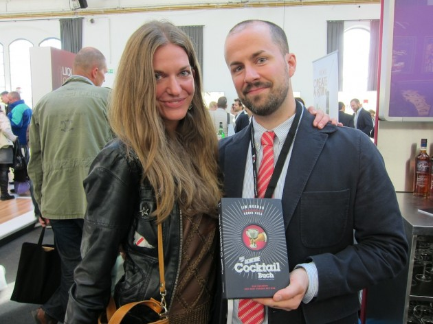 Jim Meehan with The German PDT Cocktail Book and Translator