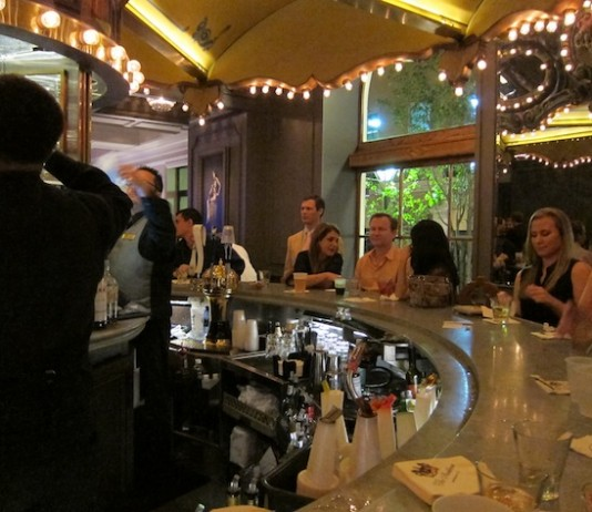 The Carrousel Bar at The Monteleone Hotel In New Orleans