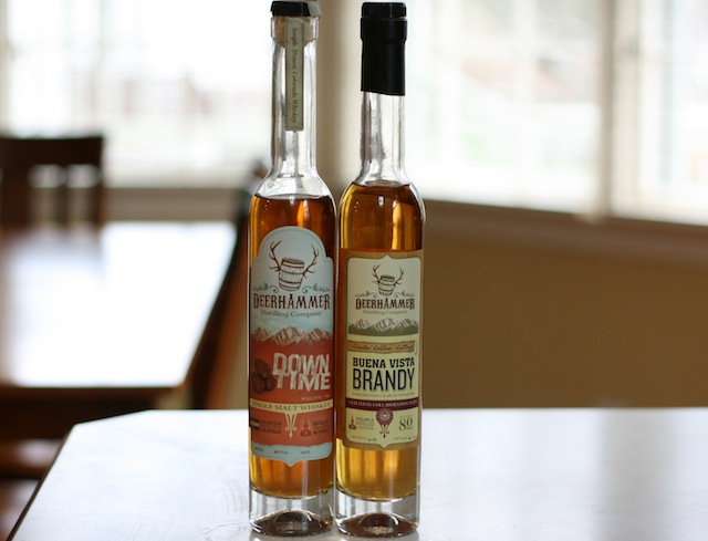 Deerhammer Distilling Brandy and Whiskey
