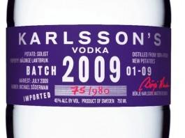 Karlsson's Vodka Batch 2009