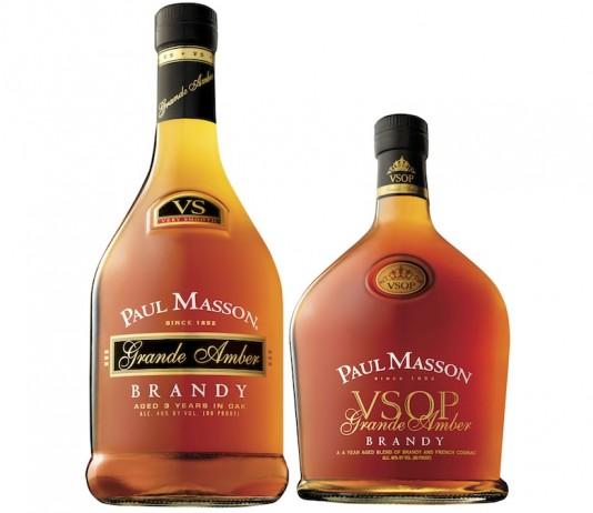 Paul Masson American Brandy Grande Amber VS and VSOP