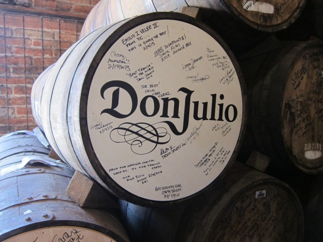 Don Julio Tequila In Ex-Bourbon Barrels