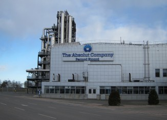 Absolut Vodka Distillery in Sweden