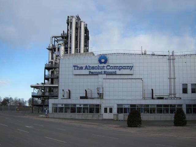Absolut Vodka Distillery in Sweden