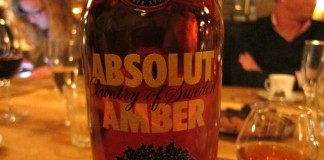 Absolut Amber - Oak Aged Vodka