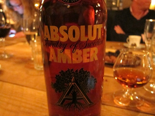Absolut Amber - Oak Aged Vodka