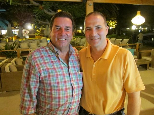 Johnny Schuler and Diego Loret de Mola