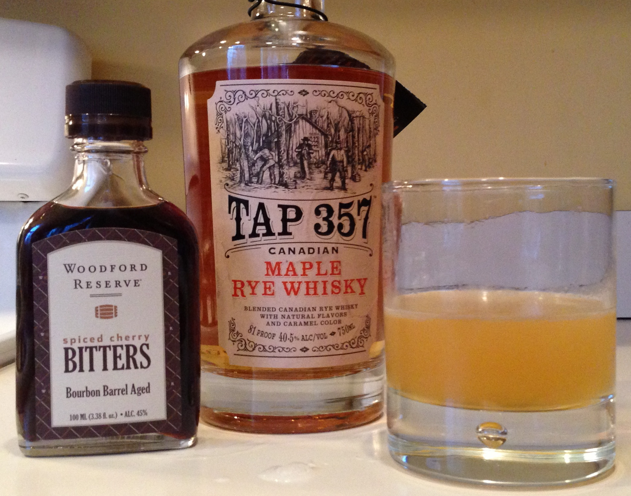 Mixing With: Tap 357 Canadian Maple Rye Whisky - Drink Spirits