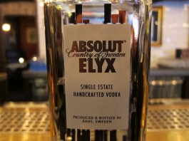 Absolut Elxy Vodka