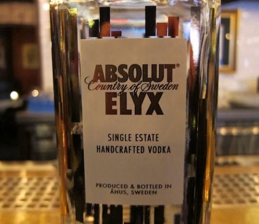 Absolut Elxy Vodka