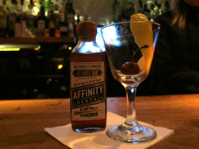 Aged Affinity Cocktail