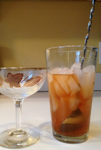 Stirred and Diluted