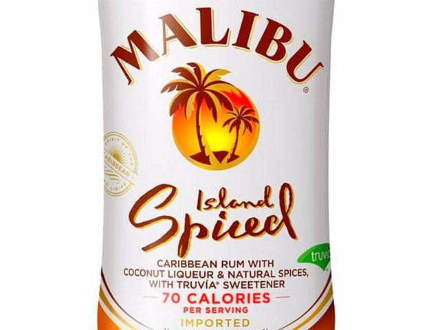 Review Malibu Island Spiced Rum Drink Spirits