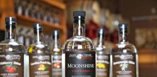 Dark Corner Distillery Moonshine