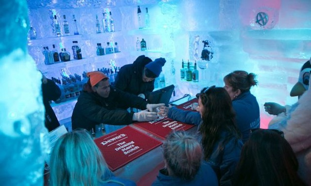 Minus 5 Ice Bar in New York