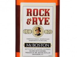 Mr. Boston Rock & Rye