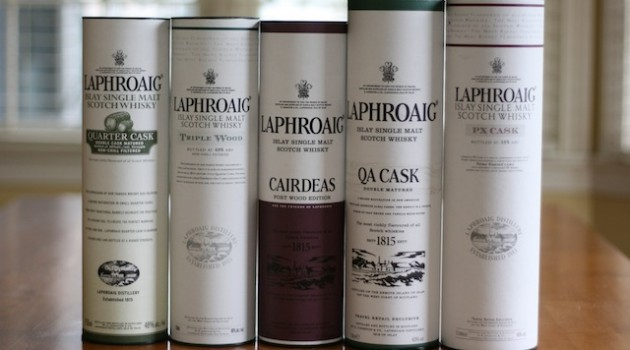 Laphroaig Whisky Experiments With Wood