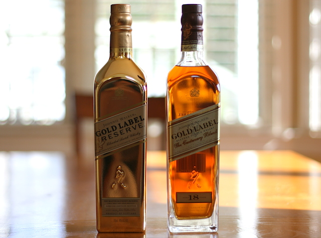 Johnnie Walker Gold Label Reserve vs. Johnnie Walker Gold Label 18