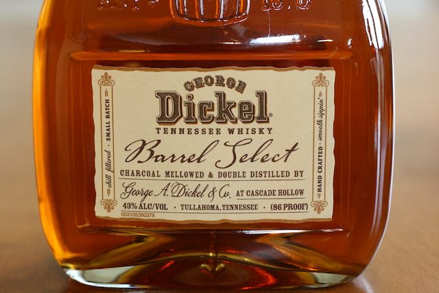 George Dickel Barrel Select Tennessee Whiskey