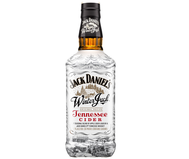 CRAFTS Jack Daniels Winter Jack Tennessee Cider Bottle Empty 750 ML