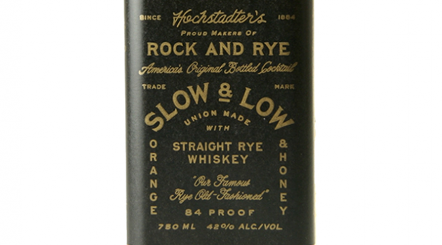 Slow and Low Rock and Rye