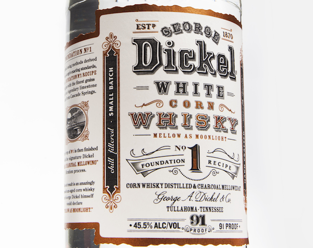 George Dickel White Corn Whiskey