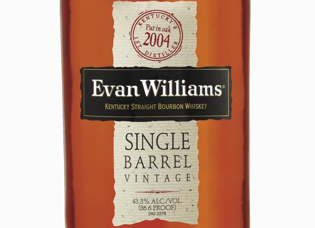 Evan Williams Single Barrel Vintage 2004