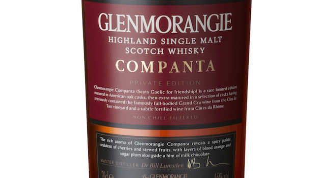 Glenmorangie's Companta Private Edition Single Malt Whisky
