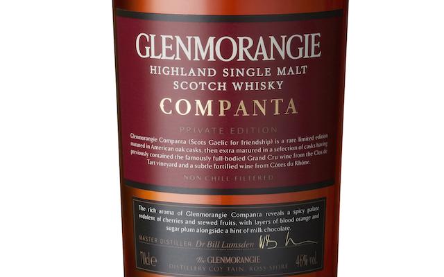 Glenmorangie's Companta Private Edition Single Malt Whisky