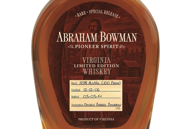 Abraham Bowman Limited Edition Double Barrel Bourbon