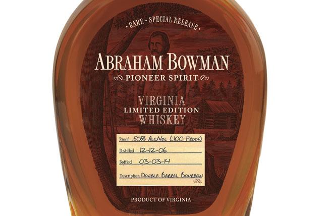 Abraham Bowman Limited Edition Double Barrel Bourbon