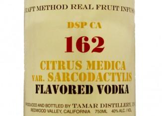 DSP CA 160 Citrus Medica var Sarcodactylis Vodka