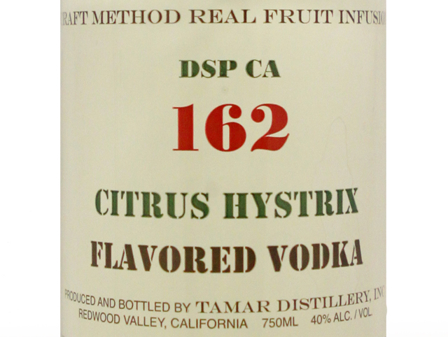 DSP CA 160 Citrus Hystrix Vodka