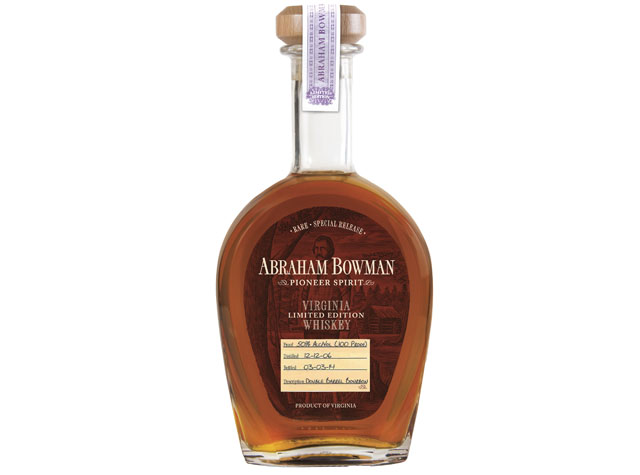 A. Smith Bowman Limited Edition Double Barrel Bourbon Whiskey