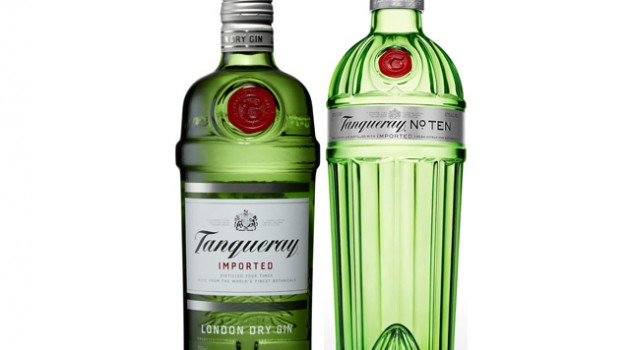 Tanqueray London Dry Gin and Tanqueray 10