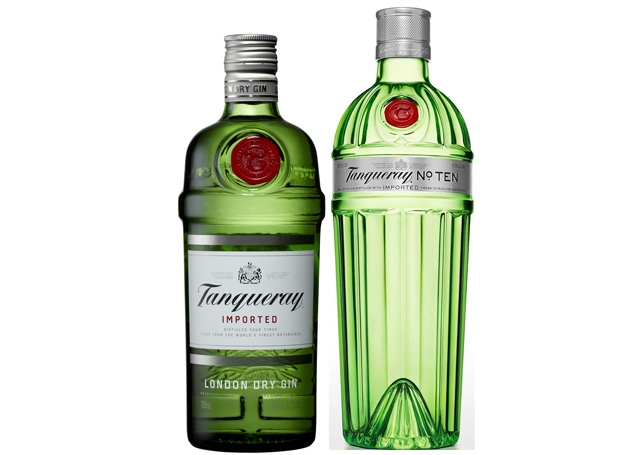 the difference between tanqueray gin and tanqueray 10 gin drink spirits. Black Bedroom Furniture Sets. Home Design Ideas