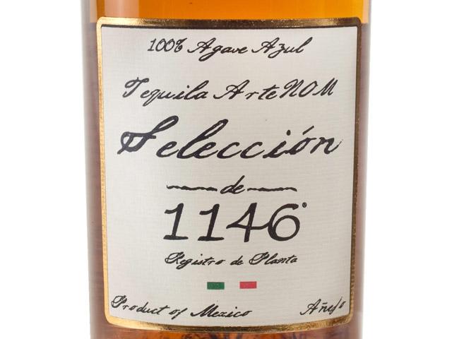Tequila ArteNOM Seleccion de 1146 Anejo Tequila