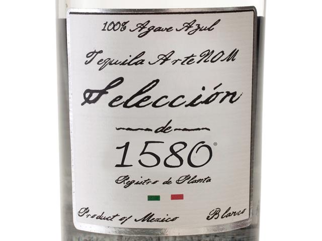 Tequila ArteNOM Seleccion de 1580 Blanco Tequila