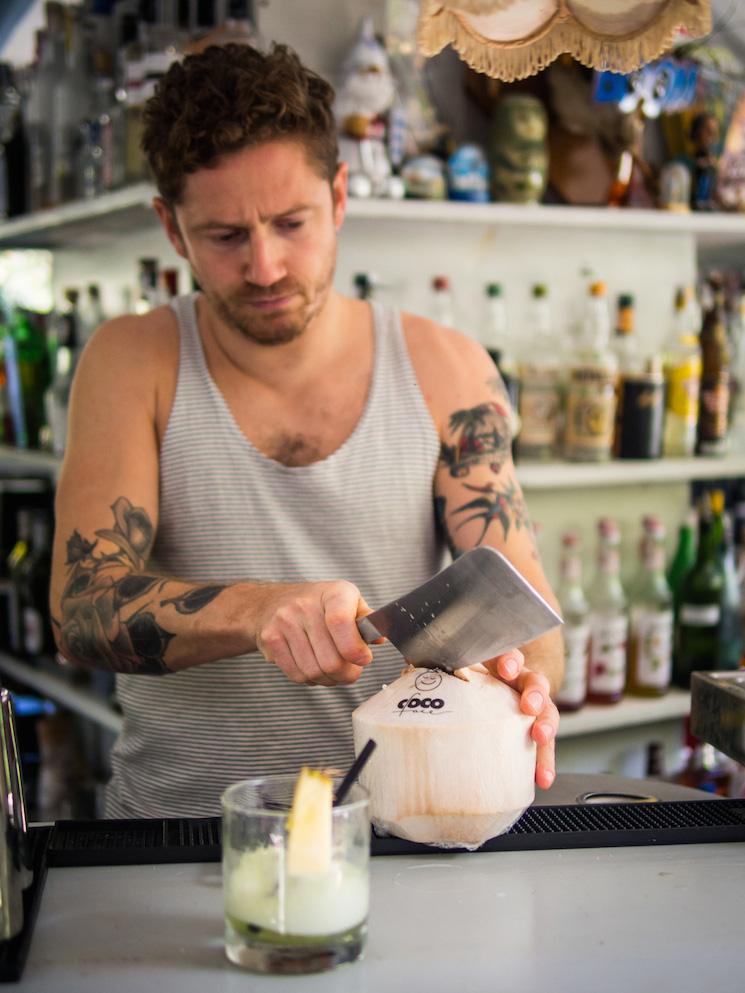 Joe Stokoe Making Smarter Cocktails  (photo: Addie Chinn)