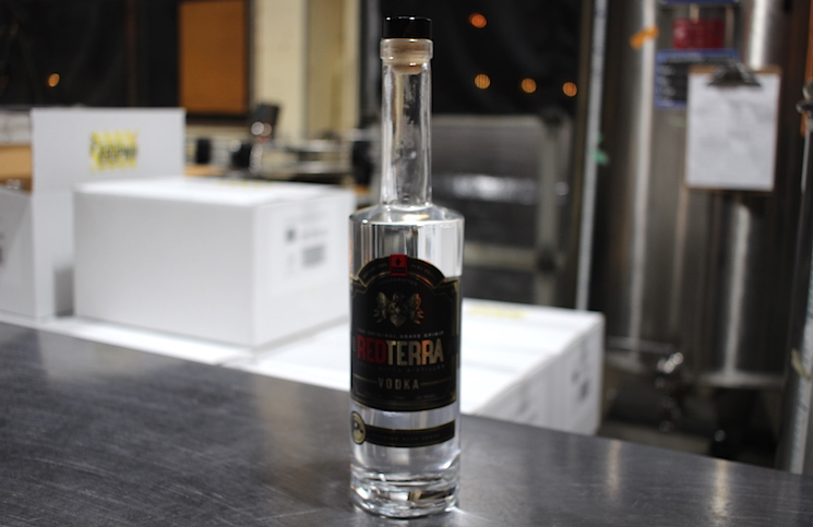 Red Terra - Agave Vodka