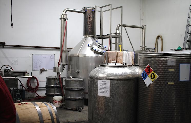 House Spirits Cramped Distillery